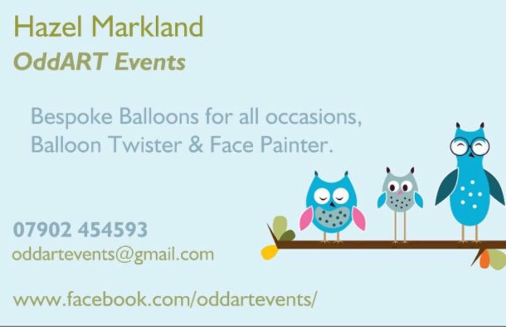 OddART Events by Hazel Markland