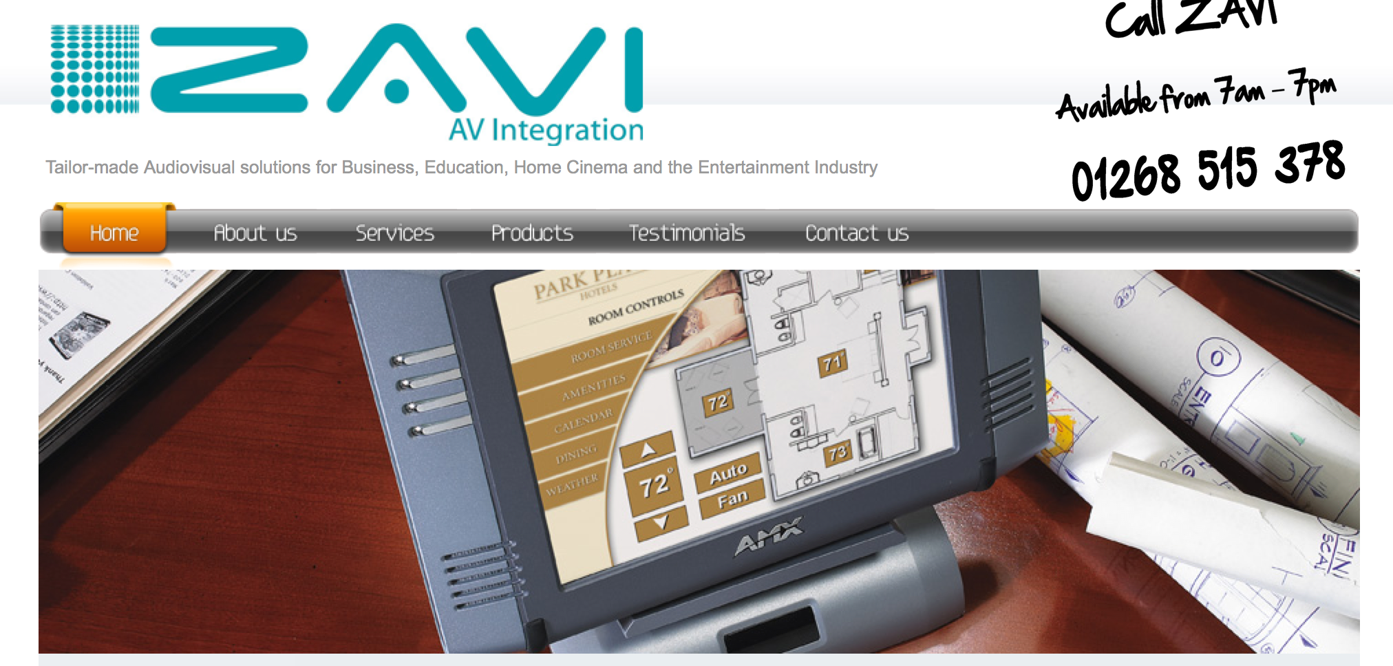 Zavi Ltd - Audio Visual Installation Services
